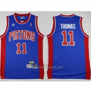 Maglie nba Detroit Pistons blu Isiah Thomas #11