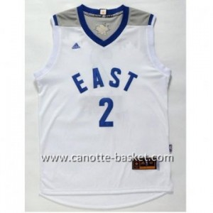 Maglie 2016 East All-Star Kyrie Irving #2 bianco