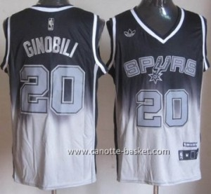 Maglie nba San Antonio Spurs Manu Ginobili #20 Fadeaway Moda