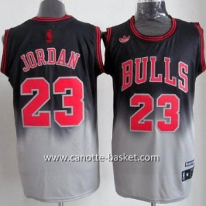 Maglie nba Chicago Bulls Michael Jordan #23 Fadeaway Moda