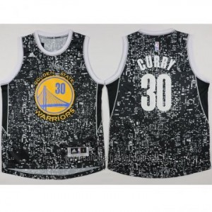 Maglie nba Golden State Warriors Stephen Curry #30 Glow Edition