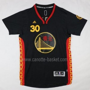 Maglie nba Golden State Warriors Stephen Curry #30 Versione cinese manica corta