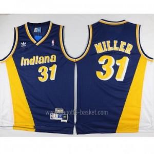 Maglie nba Indiana Pacers Reggie Miller #31 Retro blu