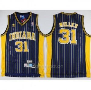 Maglie nba Indiana Pacers Reggie Miller #31 blu strisce