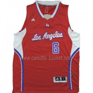 Maglie nba Los Angeles Clippers DeAndre Jordan #6 rosso 14-15 stagione