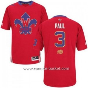 Maglie 2014 All-Star Chris Paul #3 rosso