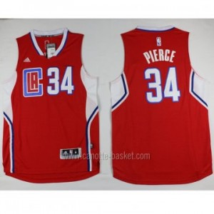 Maglie nba Los Angeles Clippers Paul Pierce #34 rosso 2016 stagione