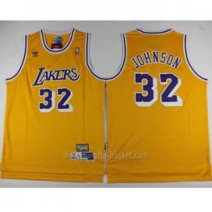 Maglie nba Los Angeles Lakers Magic Johnson #32 giallo