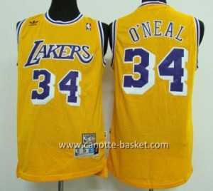 Maglie nba Los Angeles Lakers Shaquille O'Neal #34 bianco