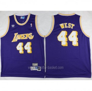 Maglie nba Los Angeles Lakers porpora Jerry West #44