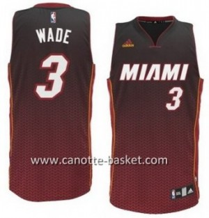 Maglie nba Miami Heat Dwyane Wade #3 Resonate Fashion