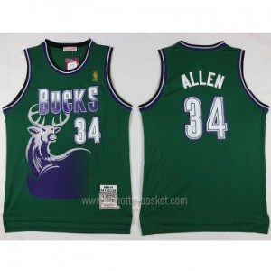 Maglie nba Milwaukee Bucks Giannis Antetokounmpo #34 verde