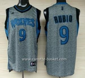 Maglie nba Minnesota Timberwolves Ricky Rubio #9 Statico Fashion