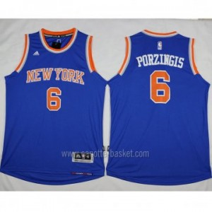 Maglie nba New York Knicks Tyson Chandler #6 blu nuovo