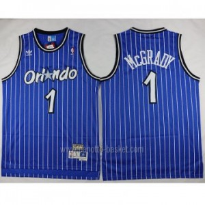 Maglie nba Orlando Magic Tracy McGrady #1 blu strisce