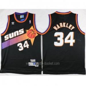 Maglie nba Phoenix Suns nero Charles Barkley #34