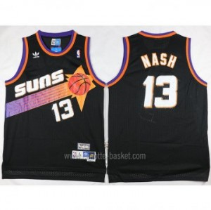 Maglie nba Phoenix Suns nero Steve Nash #13