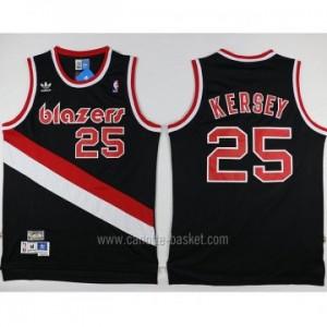 Maglie nba Portland Blazers Jerome Kersey #25 nero