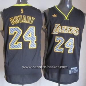 Maglie nba Los Angeles Lakers Kobe Bryant #24 Relampago