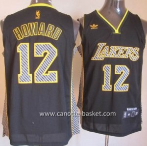 Maglie nba Los Angeles Lakers Dwight Howard #12 Relampago