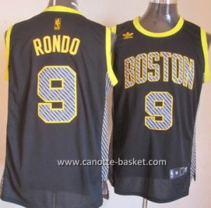 Maglie nba Boston Celtics Rajon Rondo #9 Relampago