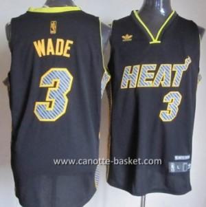Maglie nba Miami Heat Dwyane Wade #3 Relampago