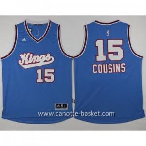 Maglie nba Sacramento Kings DeMarcus Cousins #15 blu