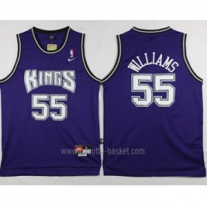 Maglie nba Sacramento Kings Jason Williams #55 porpora