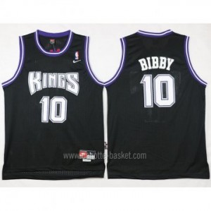 Maglie nba Sacramento Kings Mike Bibby #10 nero