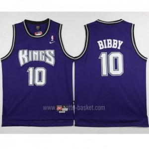 Maglie nba Sacramento Kings Mike Bibby #10 porpora