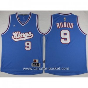 Maglie nba Sacramento Kings Rajon Rondo #9 blu