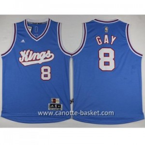 Maglie nba Sacramento Kings Rudy Gay #8 blu