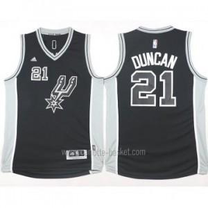 Maglie nba San Antonio Spurs Tim Duncan #21 nero 2016 stagione
