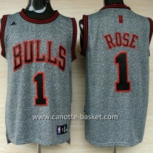 Maglie nba Chicago Bulls Derrick Rose #1 Statico Fashion