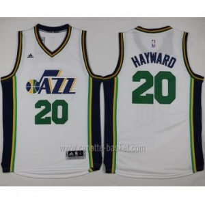 Maglie nba Utah Jazz Gordon Hayward #20 bianco 2015 stagione