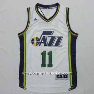 Maglie nba Utah Jazz Dante Exum #11 bianco