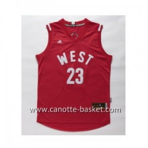 Maglie 2016 West All-Star Anthony Davis #23 rosso