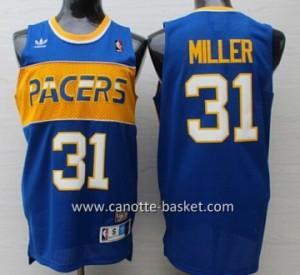 Maglie nba Indiana Pacers Reggie Miller #31 blu