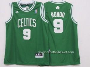 Maglie nba bambino Boston Celtics Rajon Rondo #9 verde