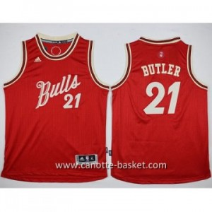 Maglie nba bambino Chicago Bulls Jimmy Butler #21 rosso