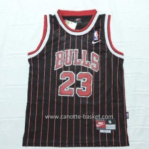 Maglie nba bambino Chicago Bulls Michael Jordan #23 striscia