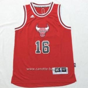 Maglie nba bambino Chicago Bulls Pau Gasol #16 rosso