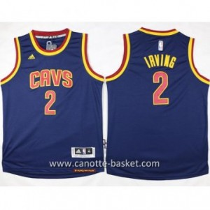 Maglie nba bambino Cleveland Cavalier Kyrie Irving #2 blu