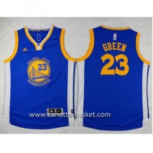 Maglie nba bambino Golden State Warriors Draymond Green #23 blu