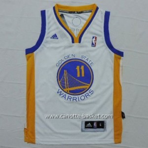 Maglie nba bambino Golden State Warriors Klay Thompson #11 bianco