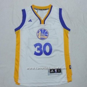 Maglie nba bambino Golden State Warriors bianco Stephen Curry #30