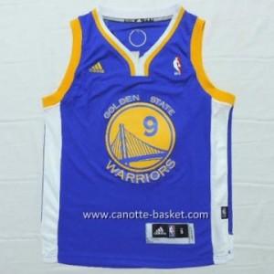 Maglie nba bambino Golden State Warriors Andre Iguodala #9 blu