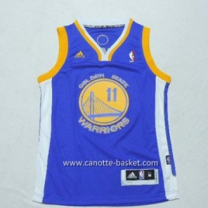 Maglie nba bambino Golden State Warriors Klay Thompson #11 blu
