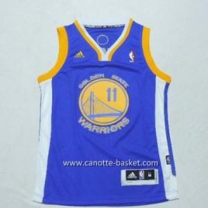 Maglie nba bambino Golden State Warriors Klay Thompson #11 blu