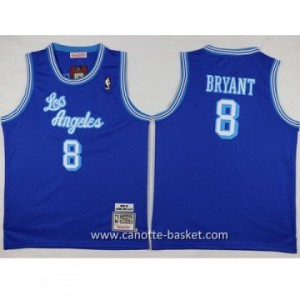 Maglie nba bambino Los Angeles Lakers KOBI BRYANT #8 blu